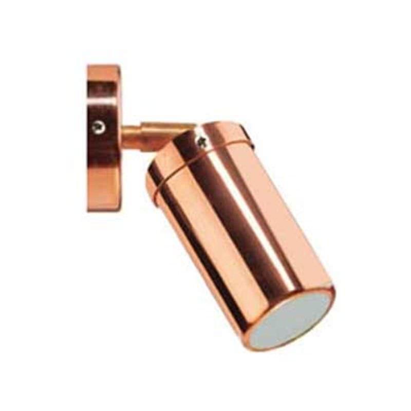 Newport Copper IP54 Outdoor LED Wall Light, 240V
