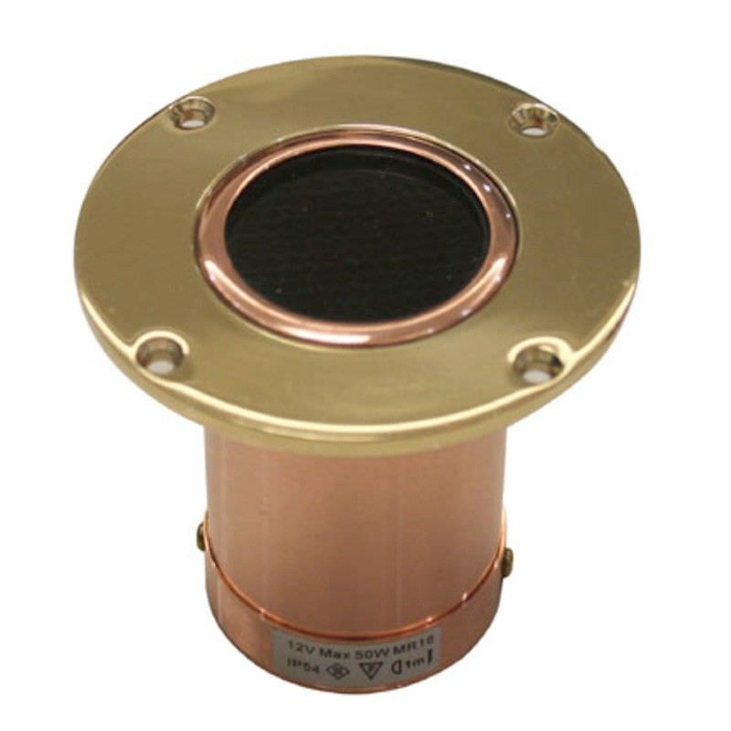 Wanda Copper IP54 Outdoor Recessed LED Wall Light