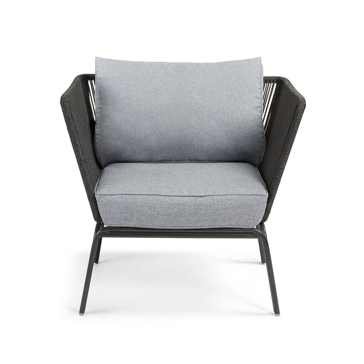 Liosia Rope & Steel Lounge Armchair