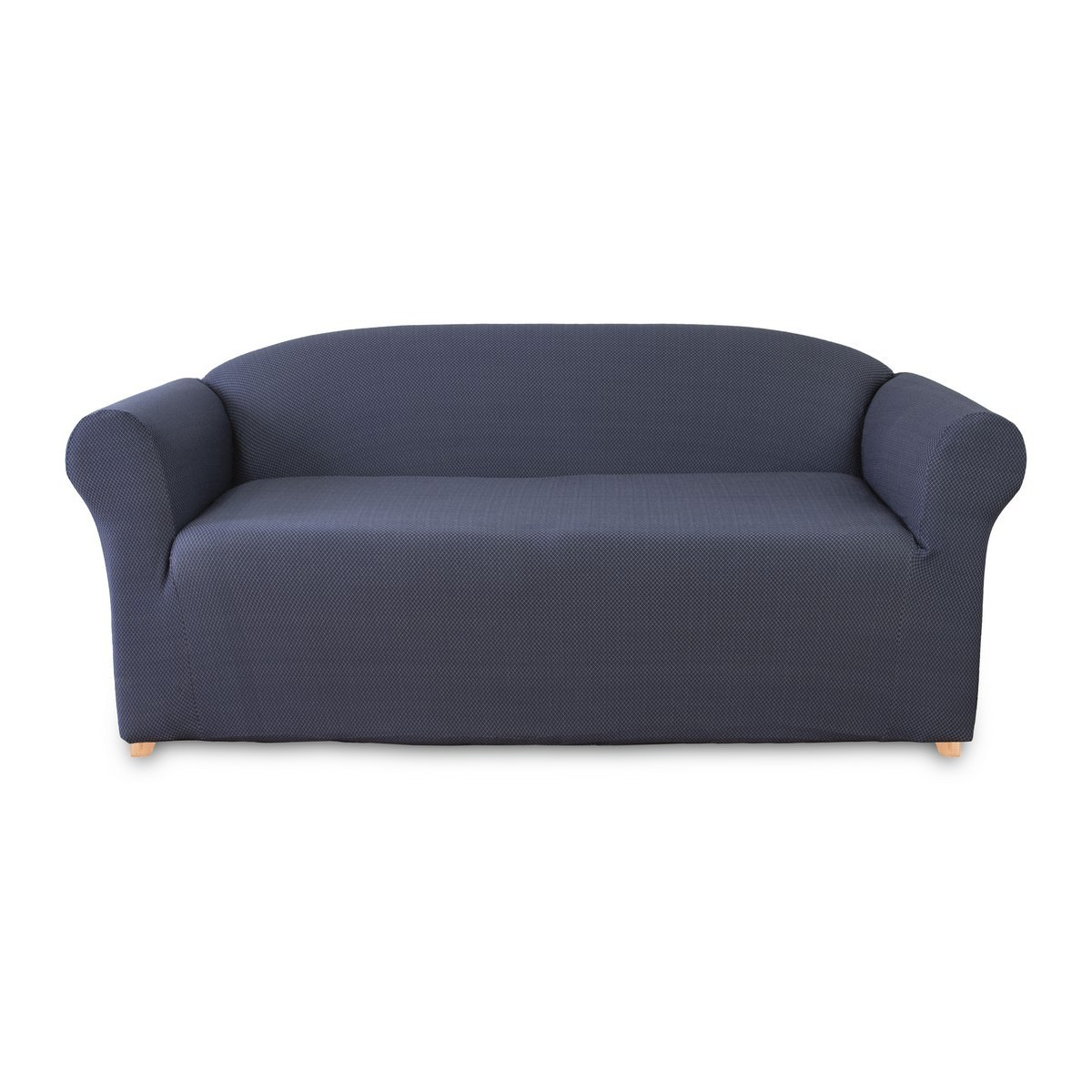 Sure Fit Diamond Sofa Cover, 2 Seater, Navy