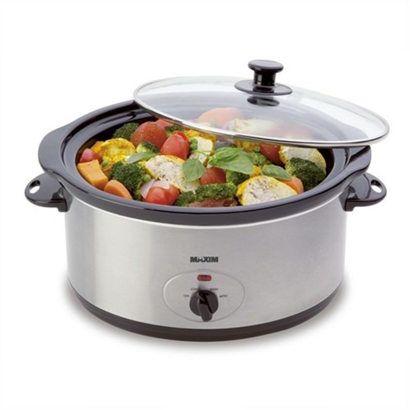 Maxim 5L Stainless Slow Cooker