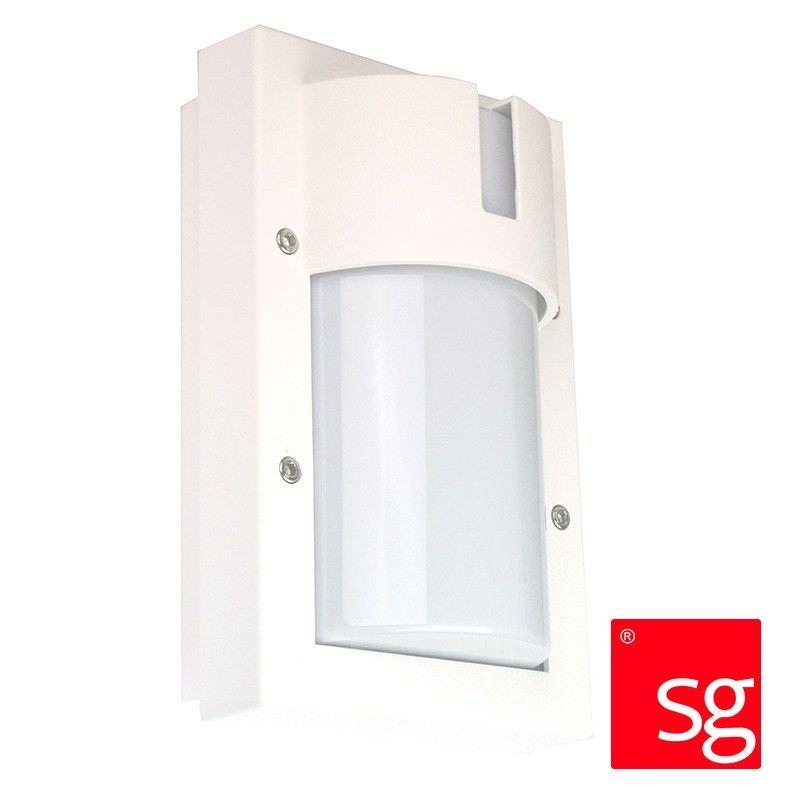 SG Ludo IP65 Exterior Bunker Wall Light, White