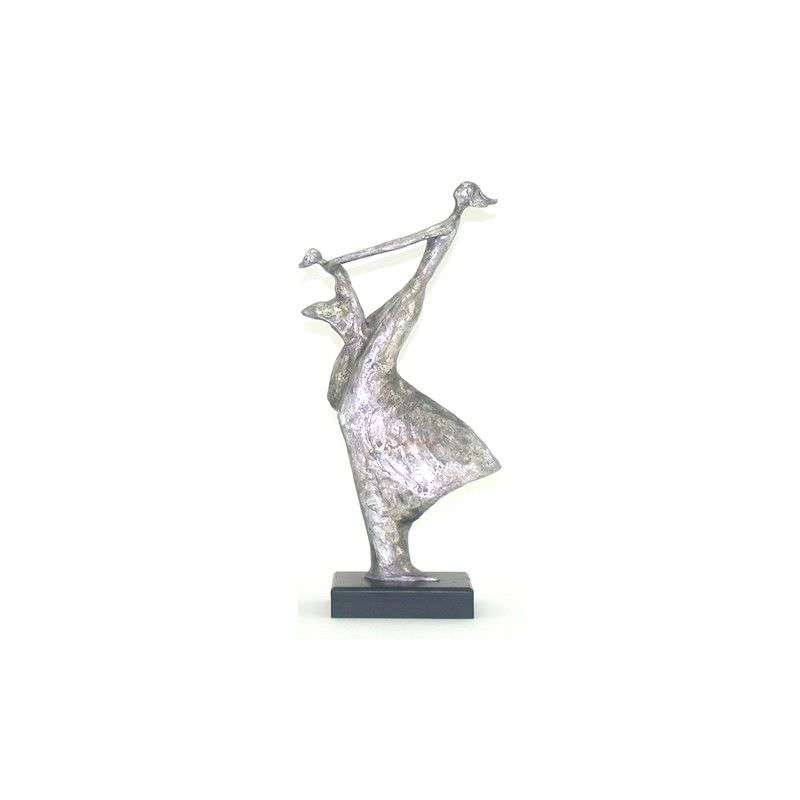 Mother and Child Statue - 18x9x37cm