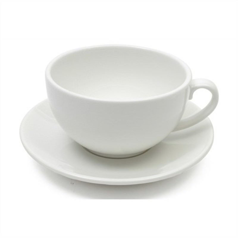 Maxwell and Williams - White Basics Cappuccino Cup and Saucer 320ml