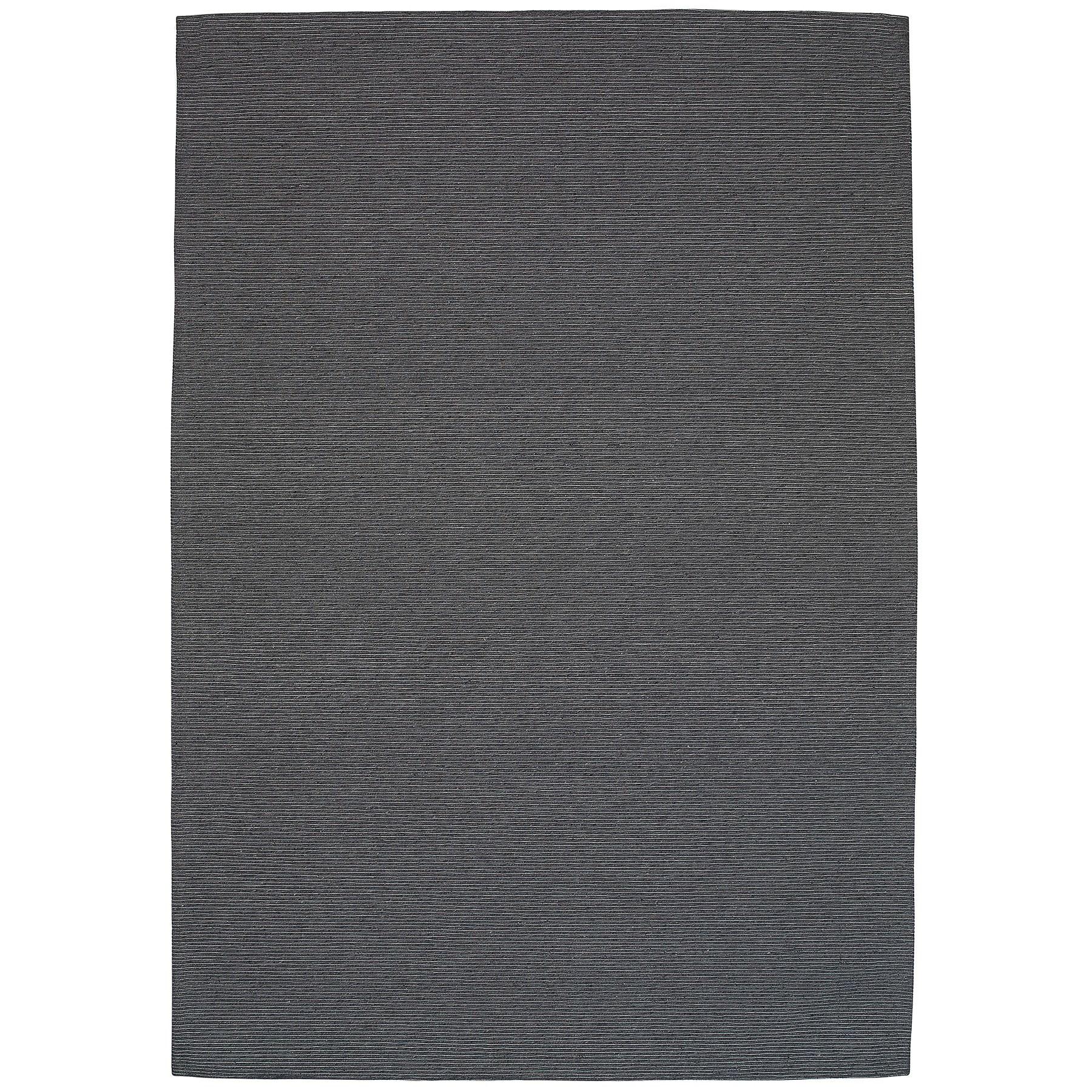 Shire Modern Wool Rug, 290x200cm, Charcoal