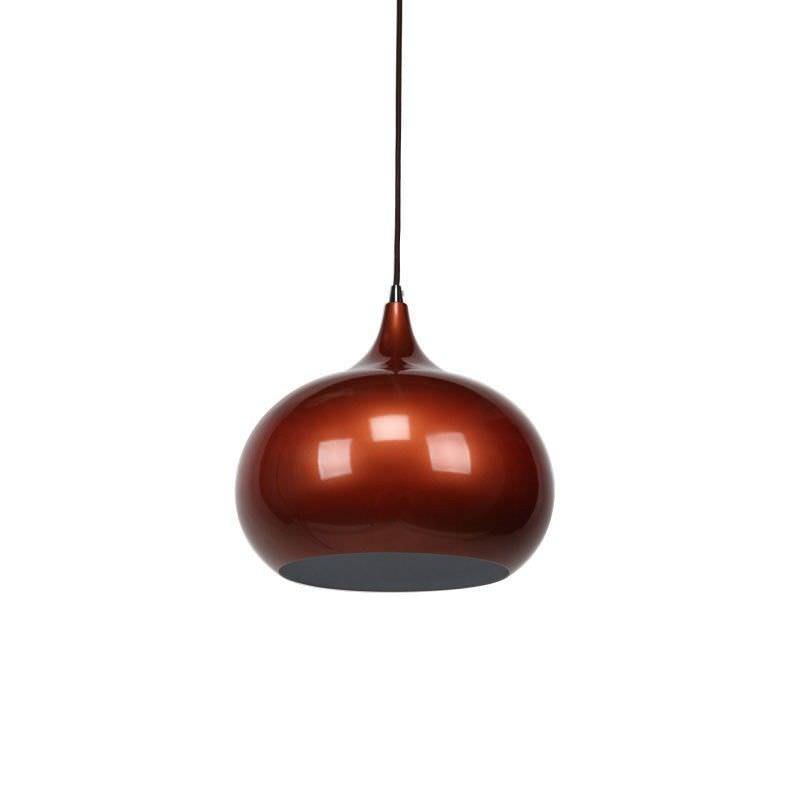 Mini Kirke Pendant Light - Pearl Copper