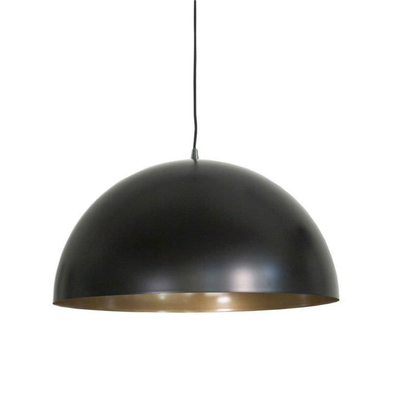 Helios Metal Pendant Light - Black/Gold