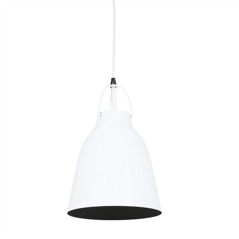 Cilla Steel Pendant Light - White
