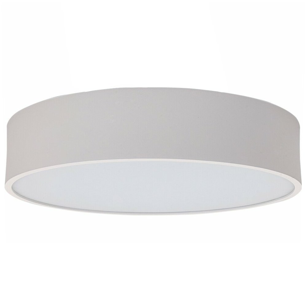 SAL Flat Commercial Grade Low Profile LED Oyster / Pendant Light, 18W, 4000K, White