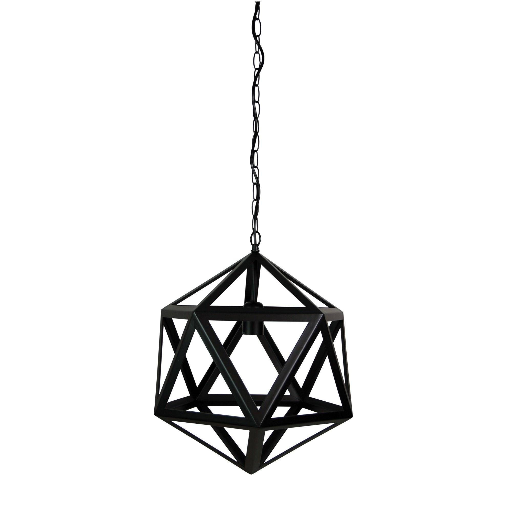 Geo Metal Pendant Light, 1 Light