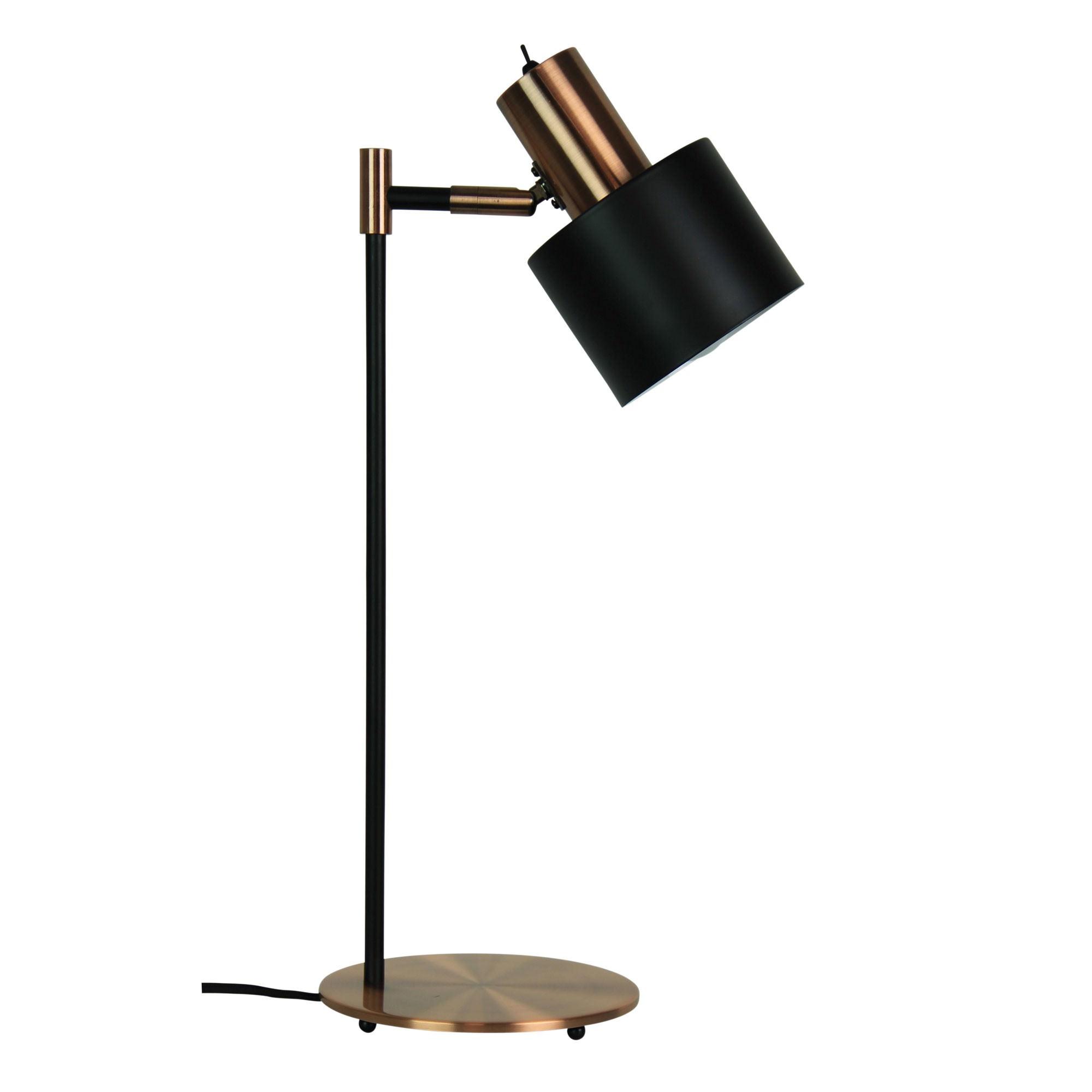 Ari Metal Desk Lamp, Brushed Copper