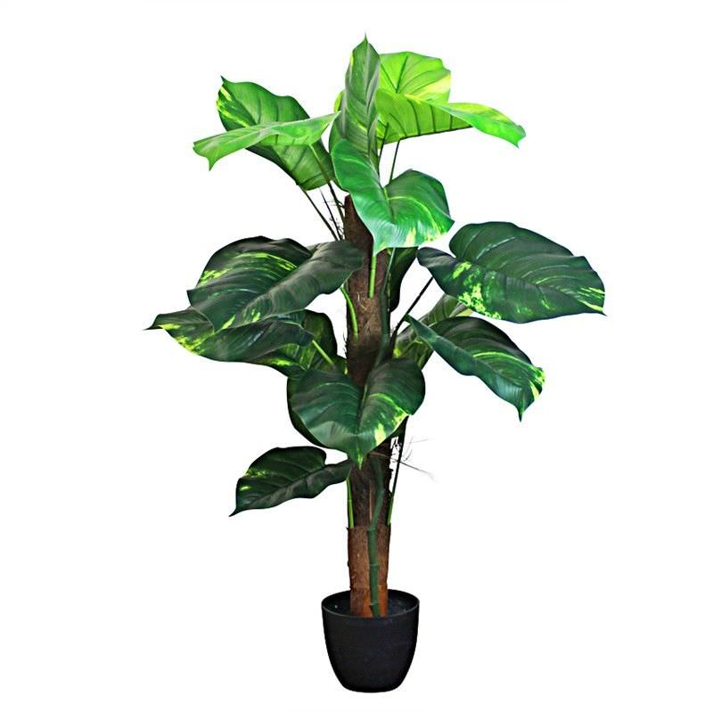 Set of 2 Artificial Pothos Tree in Pot