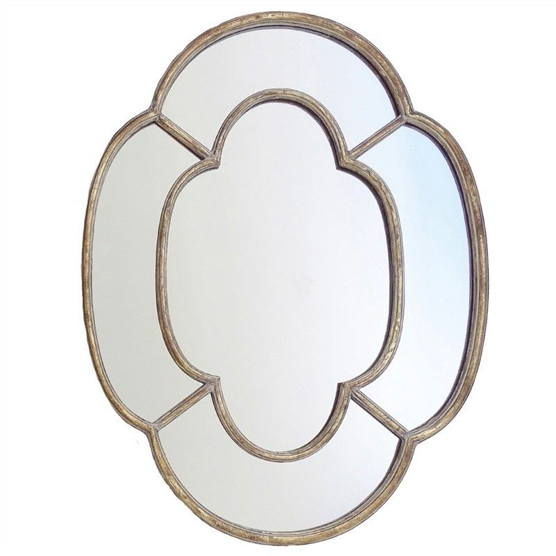 Rossin Timber Frame 100cm Wall Mirror