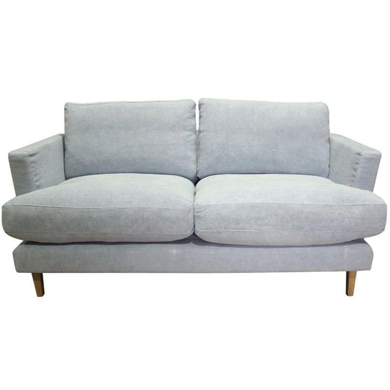 Jao Linen Fabric 2.5 Seater Sofa - Ink
