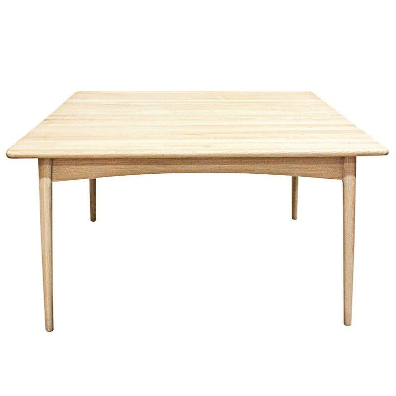 Vaste Solid Oak Timber 140cm Square Dinning Table