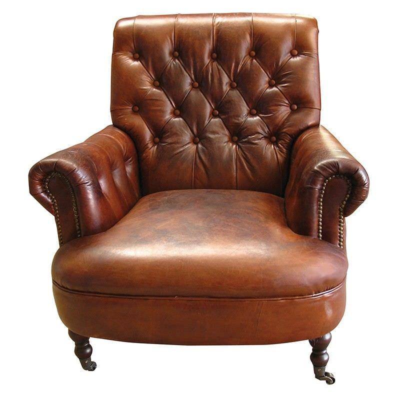 Torino Vintage Italian Leather Armchair