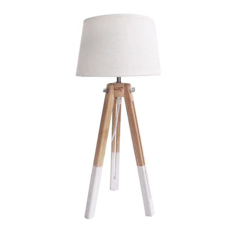 Laguna Solid Timer Tripod Table Lamp