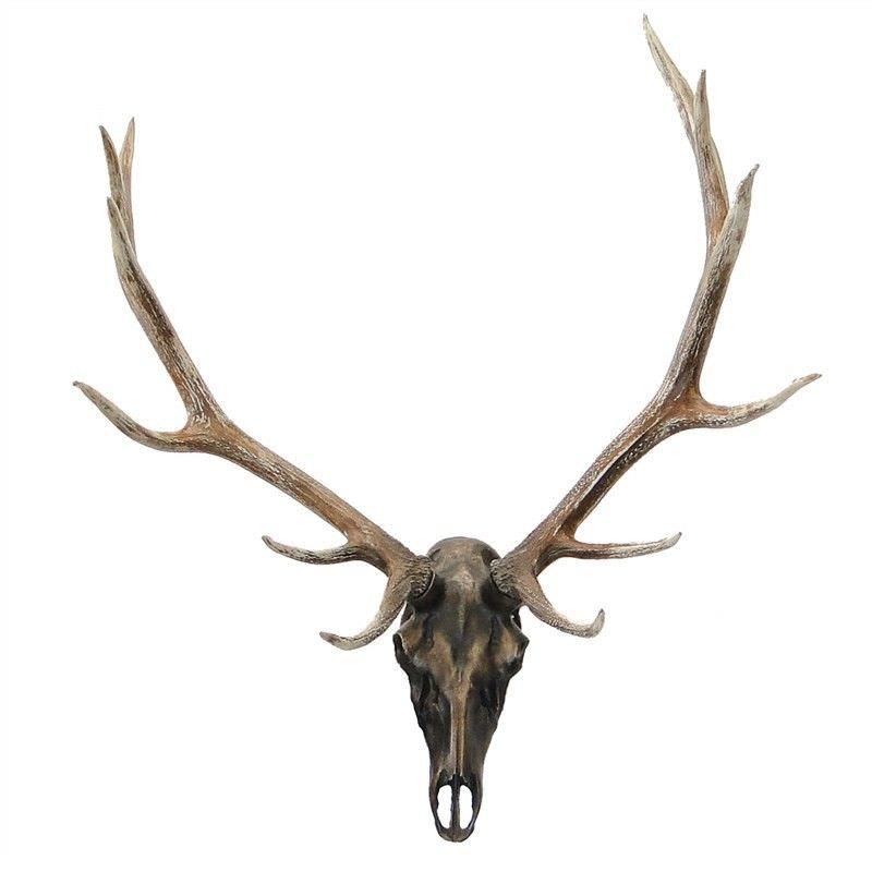 Weyburn Deer Skull 115cm Wall Decor