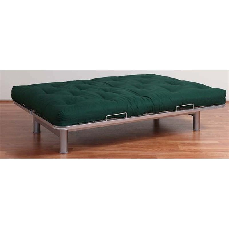 Osaka Foam Futon Mattress, Double, Dark Green