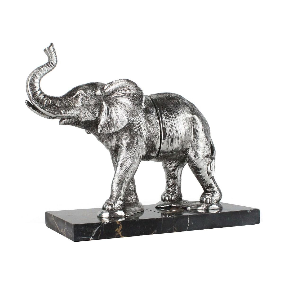 Barnard Elephant Bookend Set