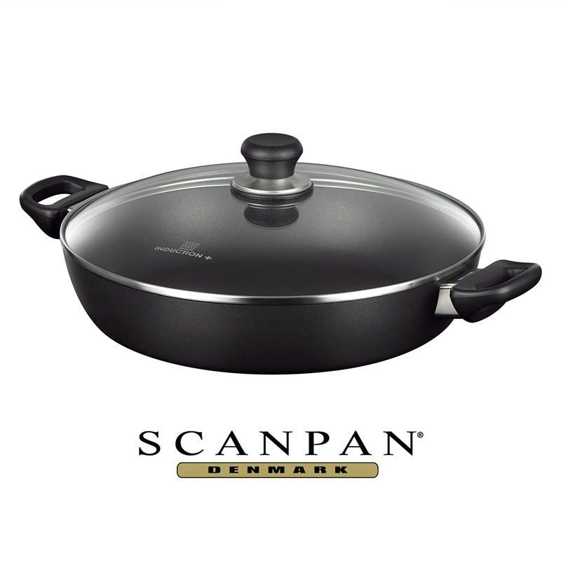 Scanpan Induction Plus Non-stick 32cm Chef Pan with Lid