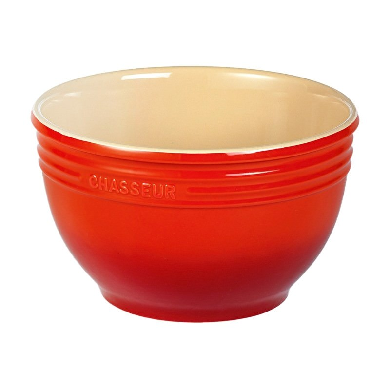 Chasseur La Cuisson Small Mixing Bowl - Red