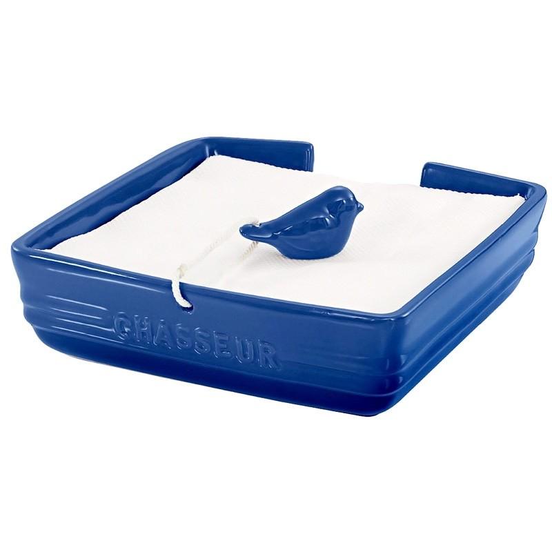 Chasseur La Cuisson Serviette Holder with Bird Weight - Blue