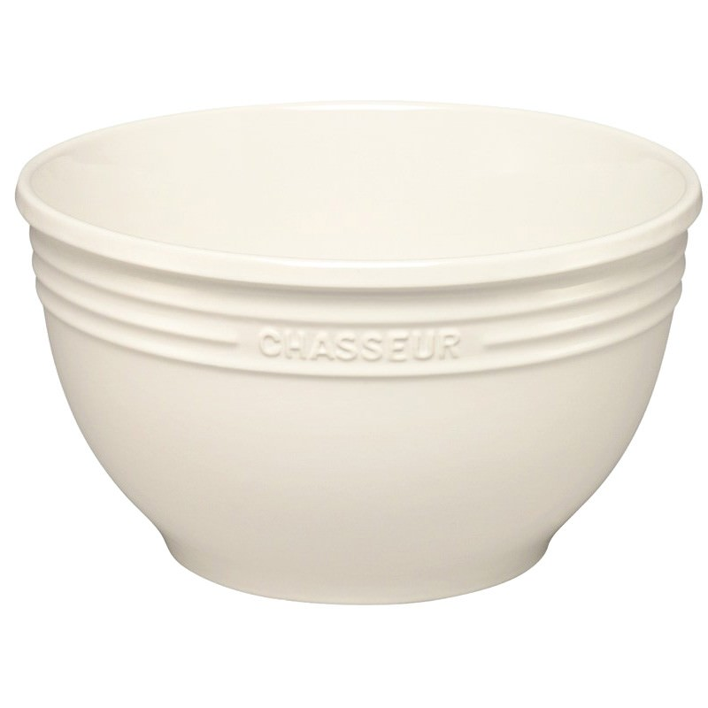 Chasseur La Cuisson Large Mixing Bowl - Antique Cream