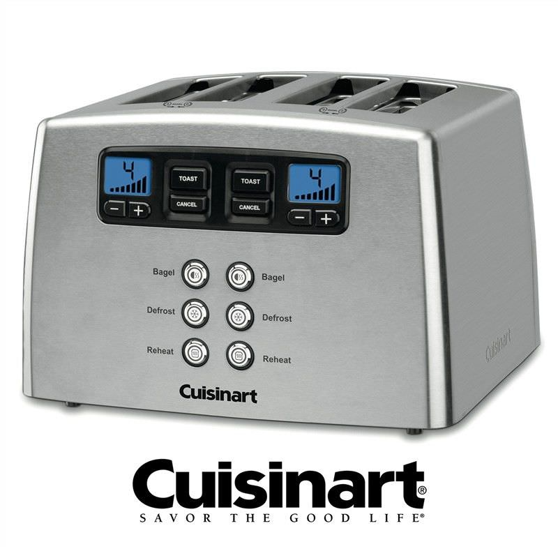 Cuisinart 4 Slice Toaster - Stainless Steel