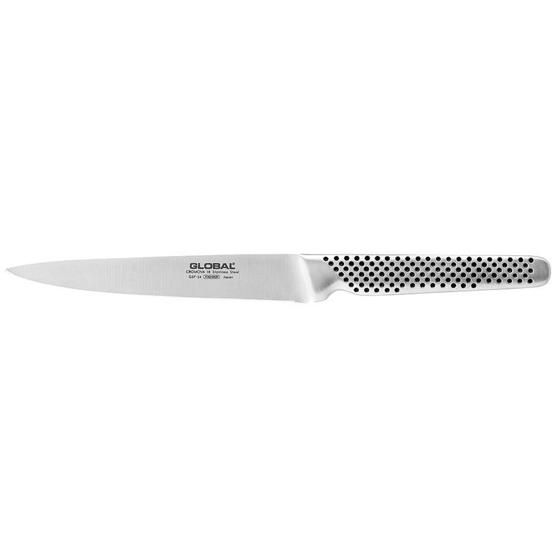 Global GSF Series 15cm Plain Universal Knife (GSF-24)