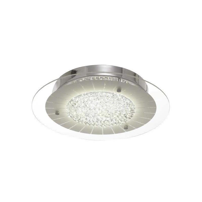 Sophia LED Oyster Ceiling Light, Round