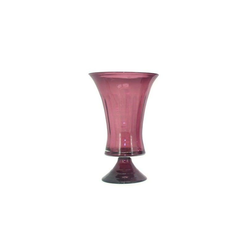 Sorina Glass Vase and Hurricane - 17x17x28cm