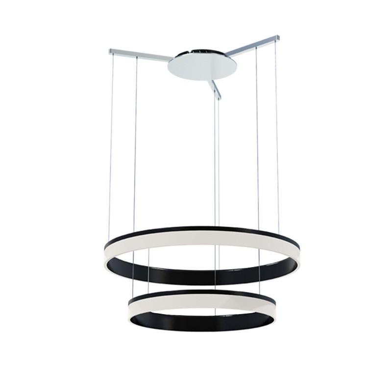 SAL Ring Commercial Grade LED Pendant Light, 2 Tier