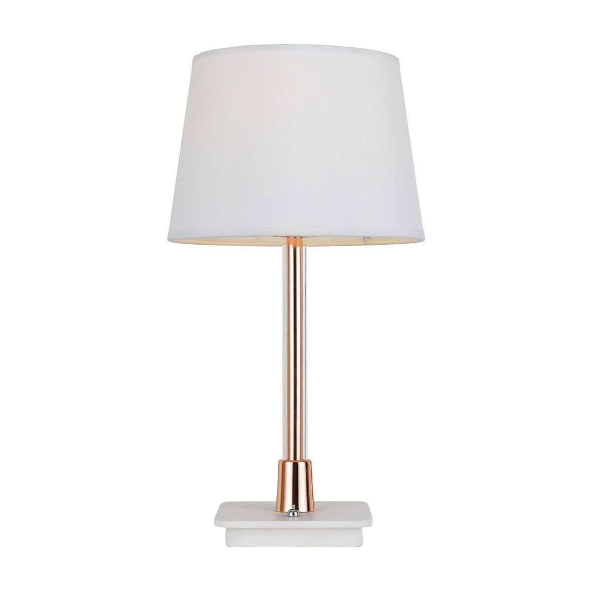 Spline Metal Table Lamp, Large, Copper