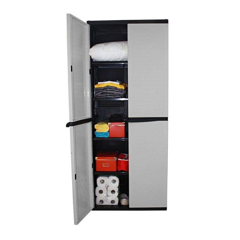 Large Storage Cabinet,  Grey