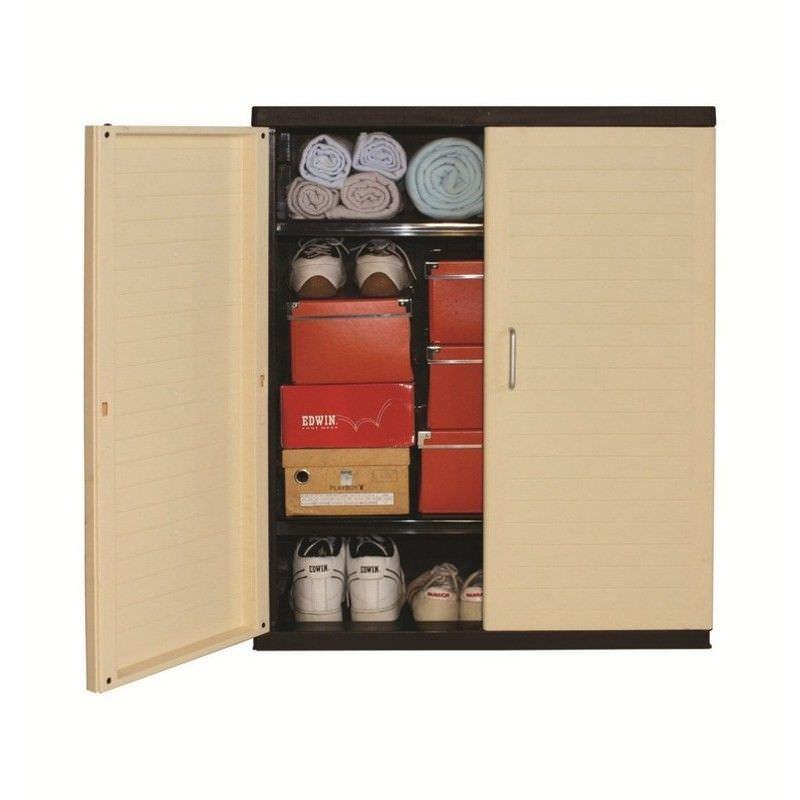 Low Storage Cabinet,  Beige