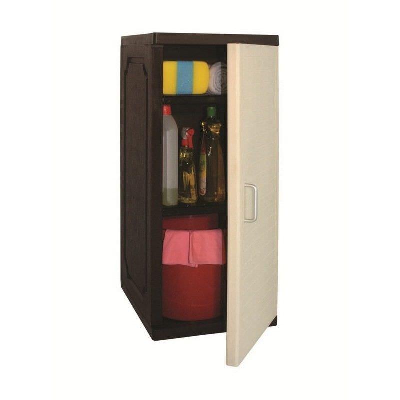 Small Storage Cabinet in Beige