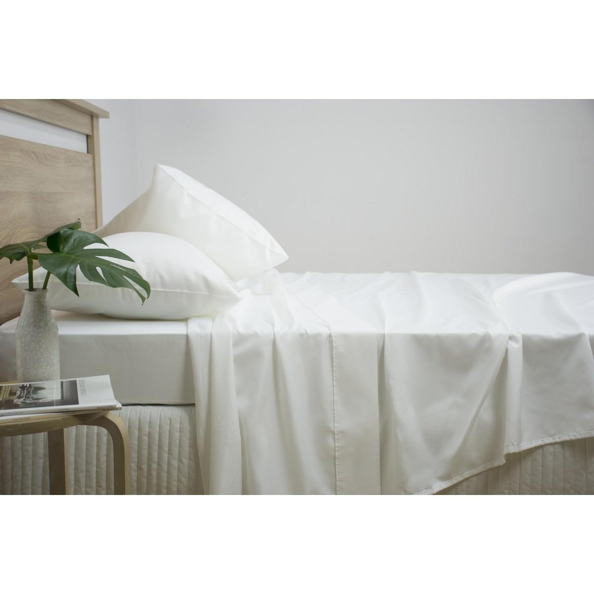 Ardor 2500TC Cotton Rich Sheet Set, King, White