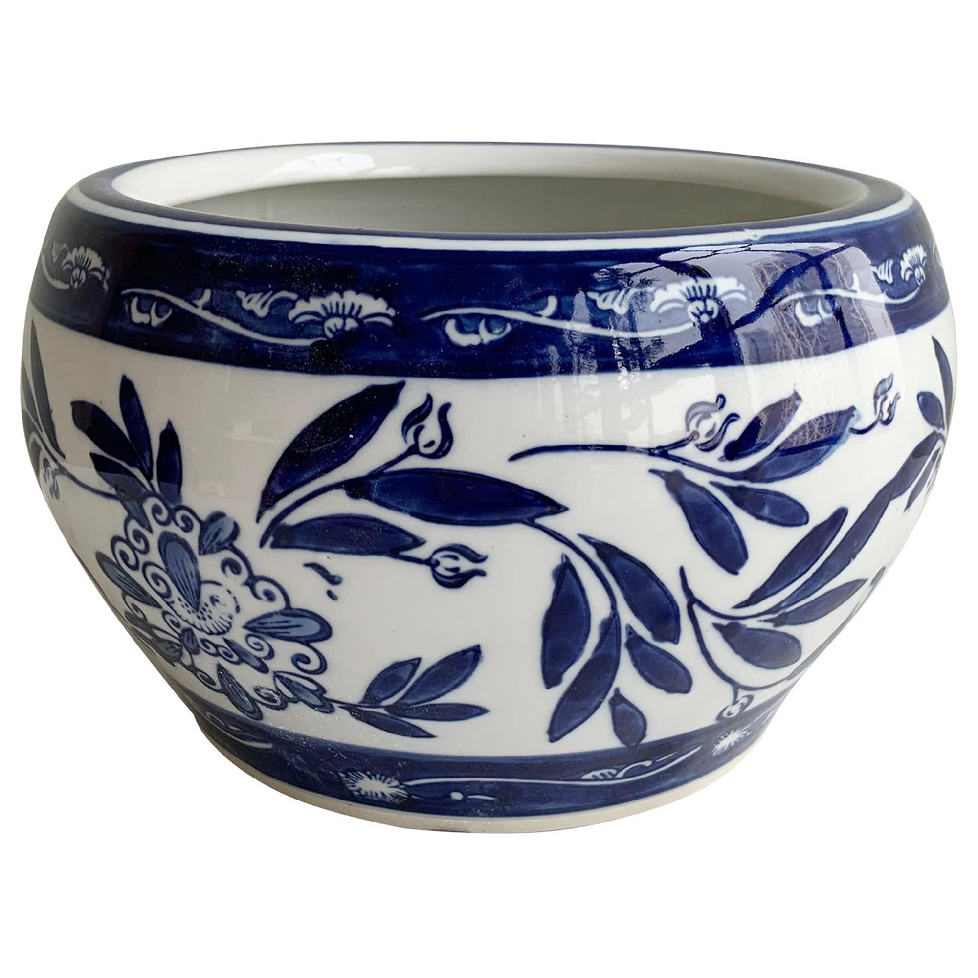 Mito Porcelain Bowl Planter, Small