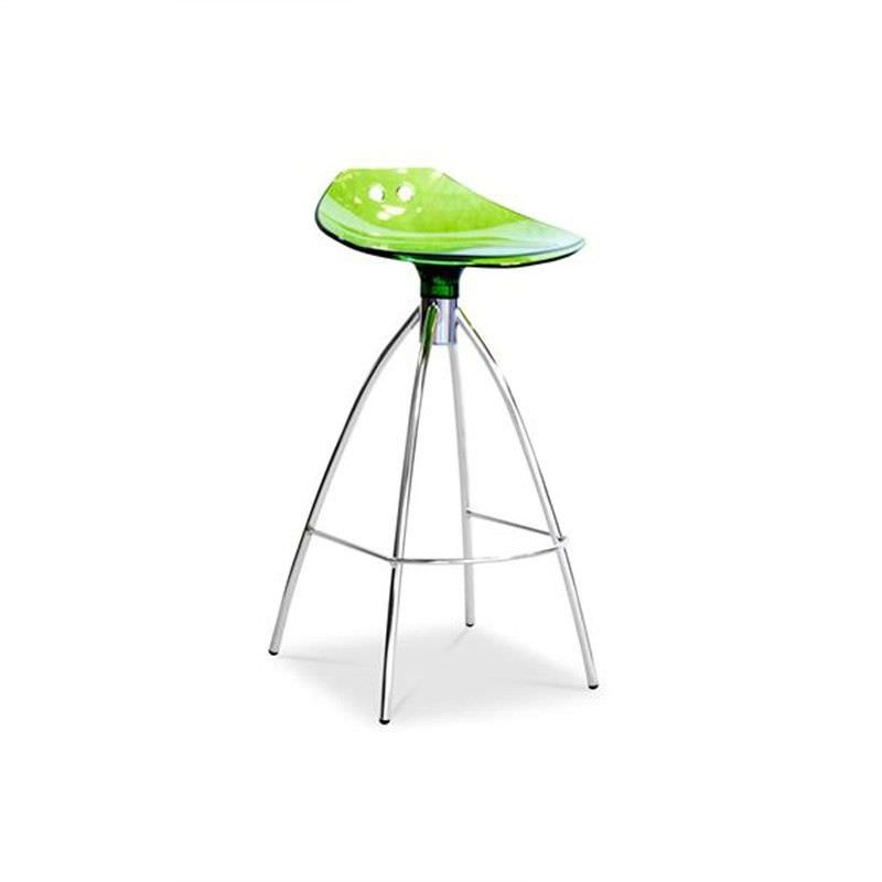 Frog Commercial Grade Counter Stool, Green