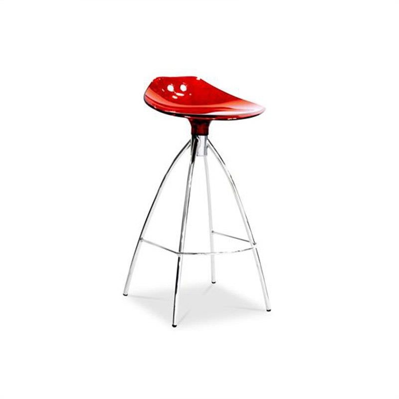Frog Commercial Grade Counter Stool, Red