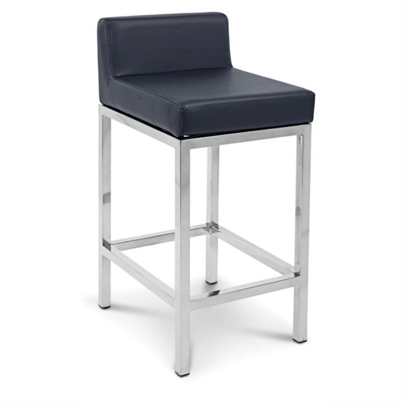 Fuji Commercial Grade Counter Stool - Black