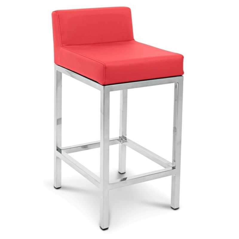 Fuji Commercial Grade Counter Stool - Red