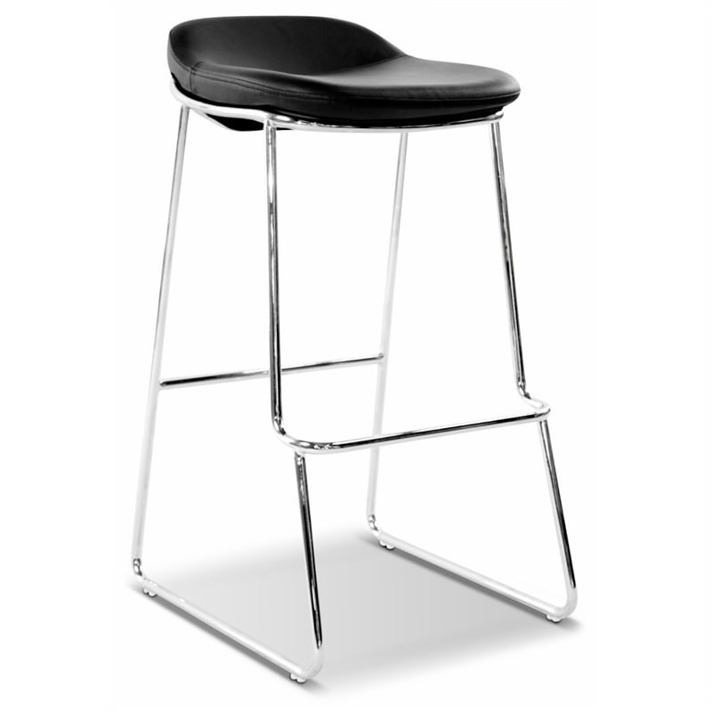 Montreal Stool Commercial Grade  in Black (Set Of 2)