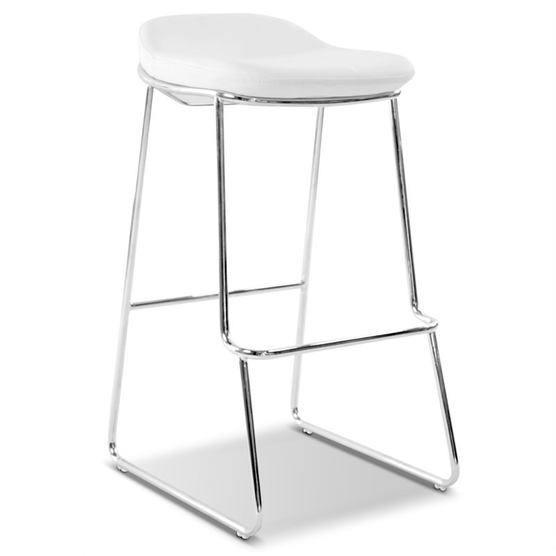 Montreal Stool Commercial Grade  in White (Set Of 2)