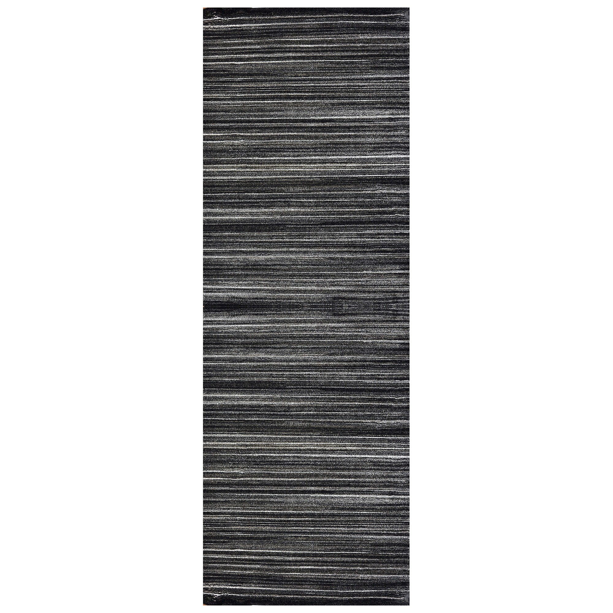 Studio Kermit Turkish Made Runner Rug, 300x80cm, Black