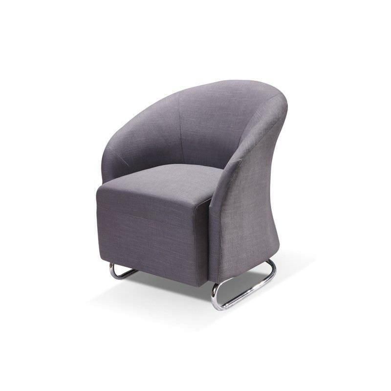 Storey Fabric Armchair - Slate
