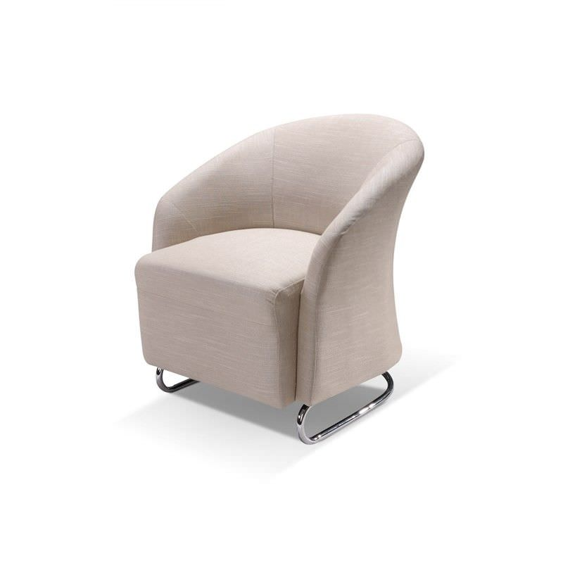 Storey Fabric Armchair - Taupe