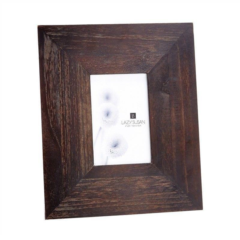 Mattie Teak Wood Photo Frame, 4x6 Inch