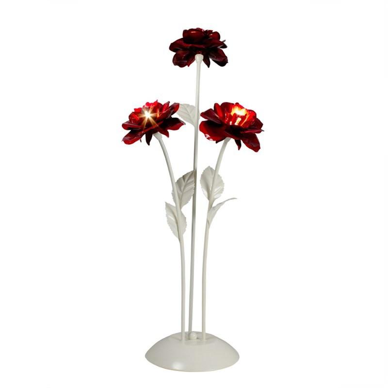 Rose 3 Light Table Lamp